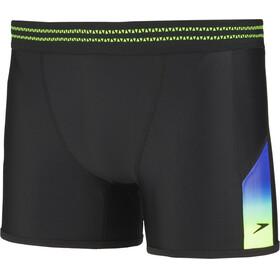 speedo Hydrosense Panel Aquashorts Men, black/green